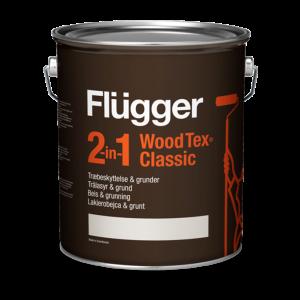 Flügger 2 in 1 Wood Tex Classic, Lakierobejca i grunt do drewna