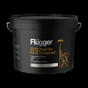 Flügger 03 Wood Tex, Półtransparentna Lakierobejca
