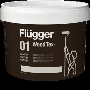 Flügger 01 Wood Tex, Olej Gruntujący do drewna