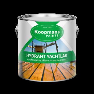 HYDRANT YACHTLAK- lakier do drewna na trudne warunki atmosferyczne